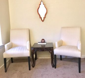 Two Gorgeous Ethan Allen Sitting Chairs