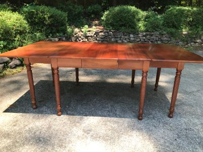 Solid Cherry Dining Table with leaf