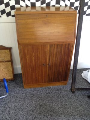 Teak Drop Leaf Desk