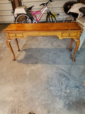 Victorian Style Sofa Table