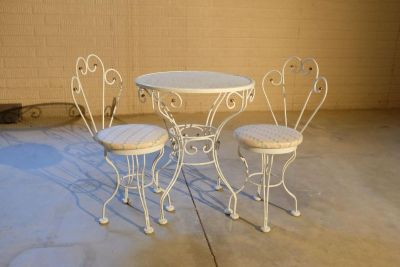 Child's Tea Table & 2 Chairs