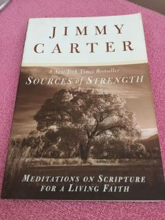 NEW! SOURCES OF STRENGTH - JIMMY CARTER PAPERBACK