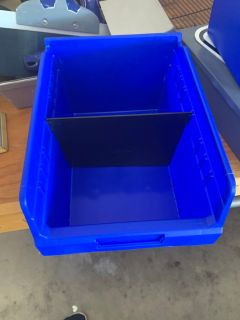 Medium and large storage containers