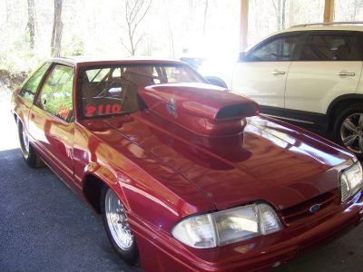1993 lx mustang tube chassis all glass