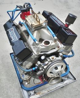 NEW 409ci 700hp SB CHEVY DRY SUMP ENGINE