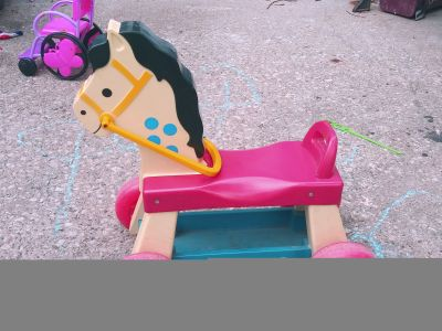 Fisher-Price riding horse