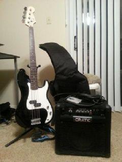 $150 OBO Starter Bass set
