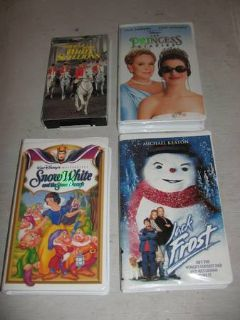 Variety Of VHS Videos For Sale (Langford)