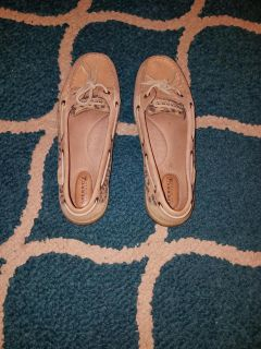 Size 7.5 Women's Sperry's - WORN ONCE