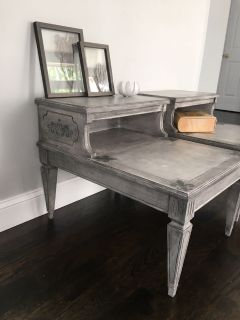 Vintage nightstands, end tables