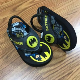 Light-up Batman Sandals NWOT Toddler 7/8