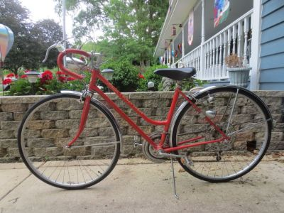 "Woman's bike 26""? Schwinn 10 speed super sport, 1973"