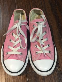 Pink all star converse size 1 -VGC