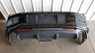 Purchase 2013 2014 Mustang GT 5.0 Rear Bumper valance complete oem Black motorcycle in Davenport, Iowa, United States, for US $129.99