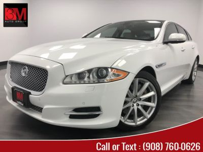 2012 Jaguar XJ-Series Base (Polaris White)