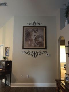 Extra large framed wall art (approx. 5 x5 )