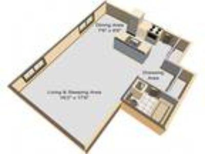 Clayton Arms Apartments - Garden Studio