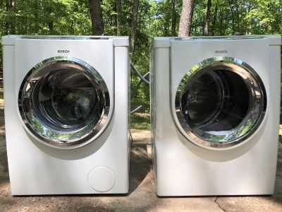 Bosch 500 series front load washer and dryer