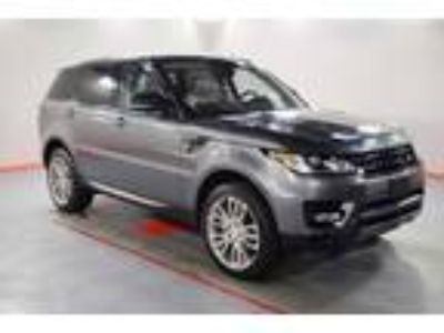 used 2016 Land Rover Range Rover Sport for sale.