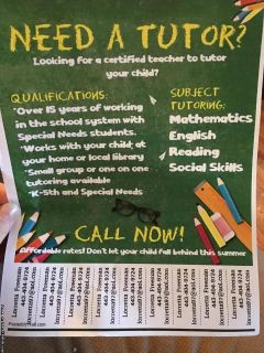 Certified Special Ed Teacher