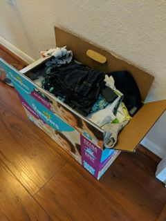 Box of 12 month clothes for boy