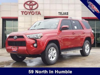 2019 Toyota 4Runner Limited (Barcelona Red)