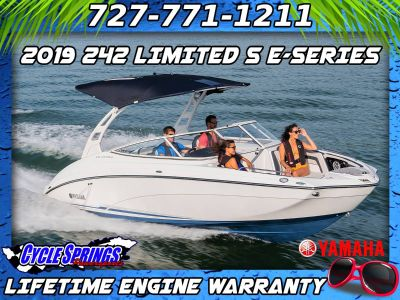 2019 Yamaha 242 Limited S E-Series Jet Boats Clearwater, FL