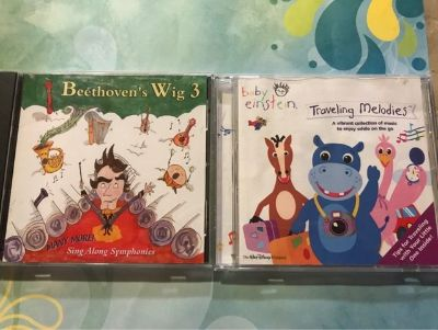 Set of 2 Cds for kids. Baby Einstein and Beethoven's Wig 3