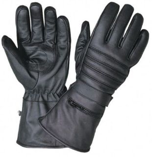 Purchase Leather Gauntlet Motorcycle Gloves with Rain Cover Size SMALL Price Blowout motorcycle in Palatine, Illinois, United States, for US $12.00