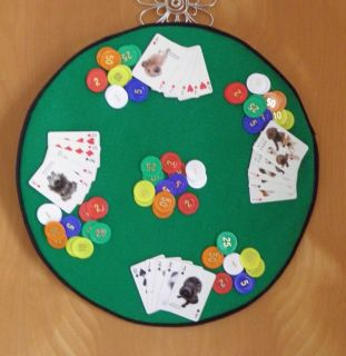 Hand Made One of A Kind Poker Wall Hanging