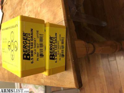 For Sale: 140gn Berger VLD