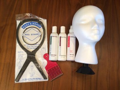 Synthetic and Natural Hair Wigs Care Set