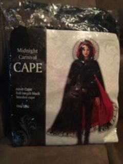 adult hooded cape