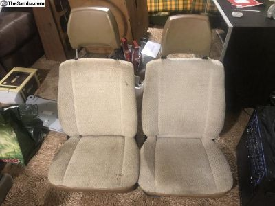 Early vanagon seats (no arm rests) fit 77-91 (bay)