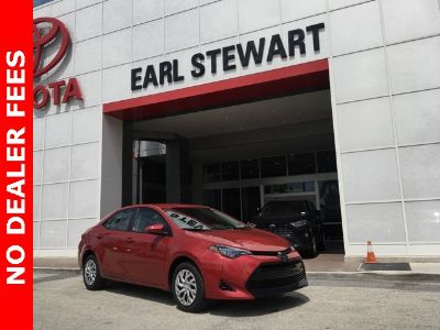 2019 Toyota Corolla L (red)