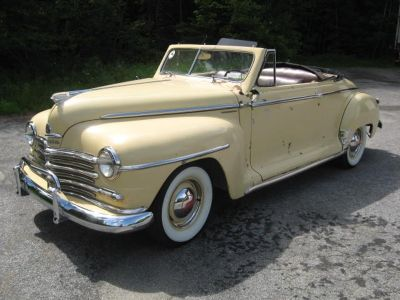 Fun 40's Convertible with all new mechanics, 1948 Plymouth