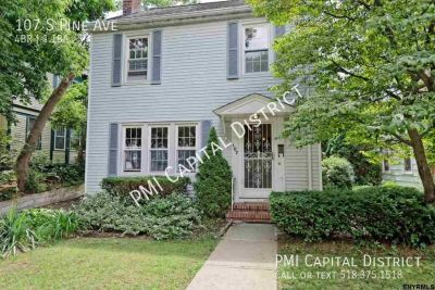 Charming Colonial w/ Gorgeous Backyard nestled in Pine Hills (Albany)