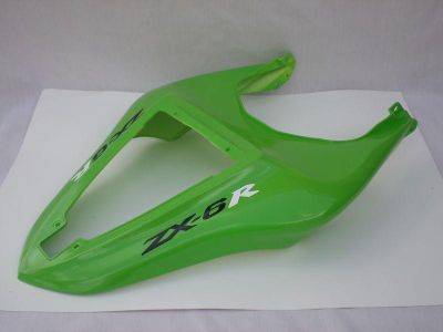 Buy Green Kawasaki Ninja zx6r zx-6r ABS rear tail fairing cowling 2007 2008 07-08 motorcycle in Kansas City, Missouri, US, for US $155.00
