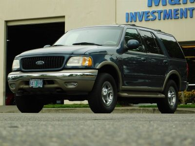 2000 Ford Expedition Eddie Bauer (Medium Wedgewood Blue Clearcoat)