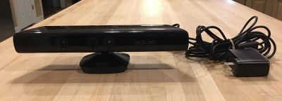 Xbox 360 Kinect with Adaptor