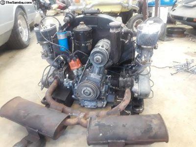 1968 Porsche 912 complete engine