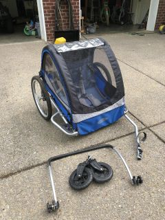 InStep bicycle trailer $70 OBO