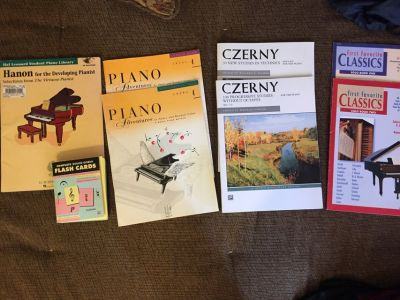 Piano Books and Flashcards