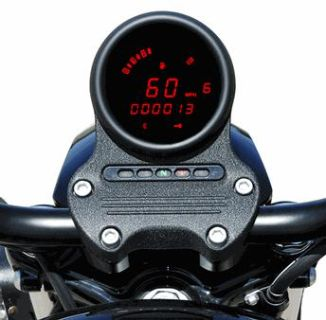 Sell DAKOTA DIGITAL SPEEDOMETER/TACHOMTER GAUGE RED HARLEY DYNA 04-11 SPORTSTER 04-12 motorcycle in Gambrills, Maryland, US, for US $318.95
