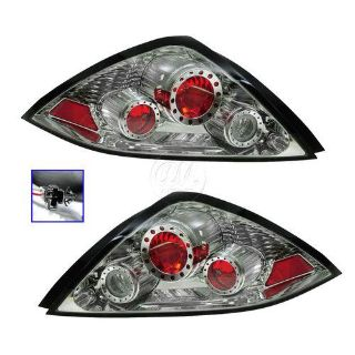 Sell 03-05 Honda Accord Coupe Performance Chrome Altezza Style Tail Lamp Light Pair motorcycle in Gardner, Kansas, US, for US $99.95
