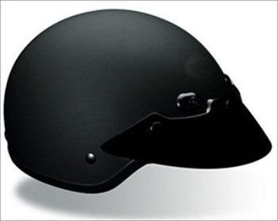 Find Bell Shorty Matte Black Open-Face Motorcycle Helmet XX-Large motorcycle in South Houston, Texas, US, for US $69.95
