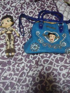 Betty Boop dolls and purses