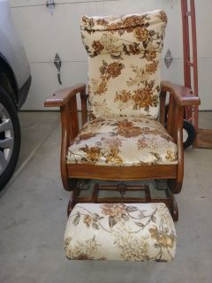 Old style recliner.