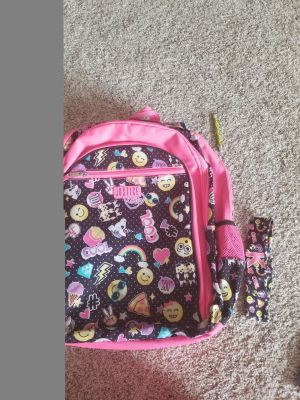 Justice Bookbag w/matching hairbow!