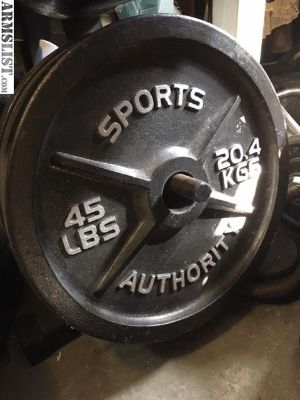 For Sale/Trade: Weight equipment for firearm